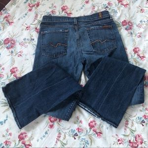 7 For All Mankind bootcut jeans size 28 like new